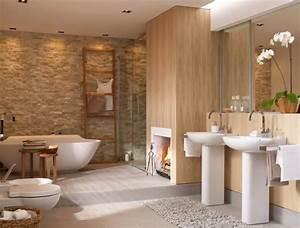Schlafzimmer Romantisch Dekorieren : kamin neben der badewanne sch ner wohnen ~ Markanthonyermac.com Haus und Dekorationen