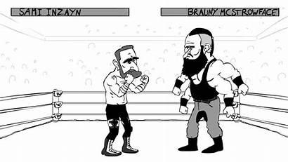Wwe Braun Strowman Cartoon