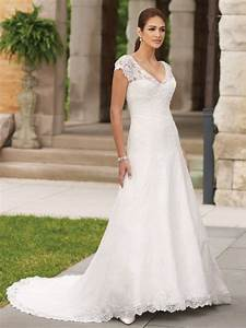 lace summer wedding dresses with v necklinecherry marry With summer lace wedding dress