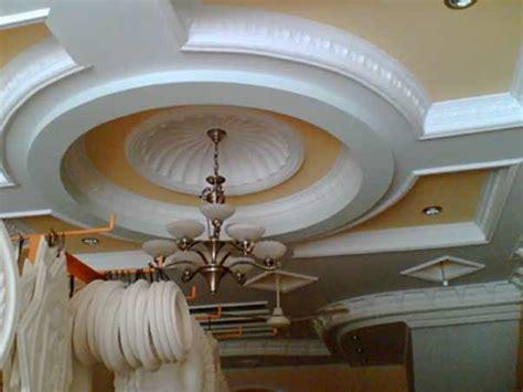gemawing gypsum percantik interior atap rumah