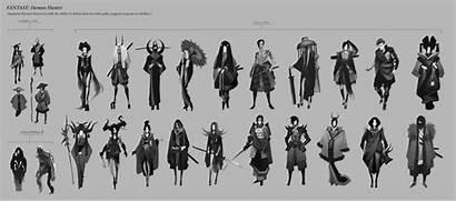 Character Thumbnail Process Concept Artstation Cecilia Daude