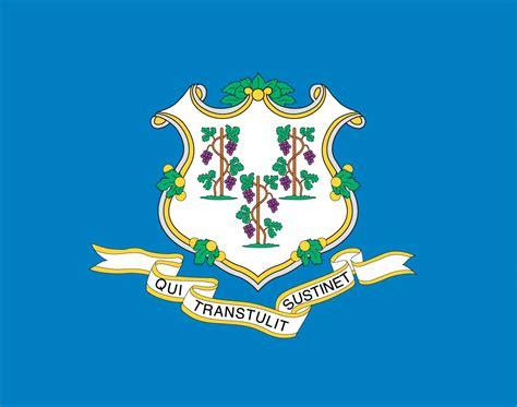 connecticut color connecticut state flag represents