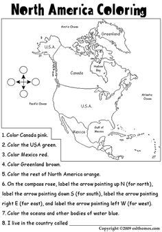 9 best images of world geographic features worksheet