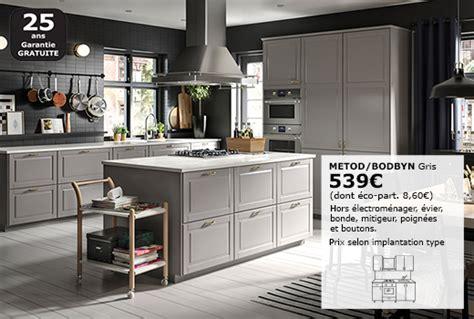 hauteur 駘駑ents de cuisine meubles bas hauteur caisson 80 cm système metod ikea