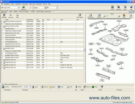 mazad online mazda usa 2009 spare parts catalogs download electronic
