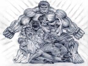 Incredible Hulk Sketches Drawings