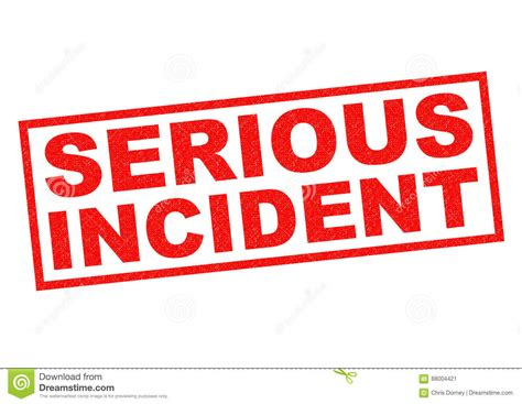 Serious Incident Stock Illustration Image Of Protected