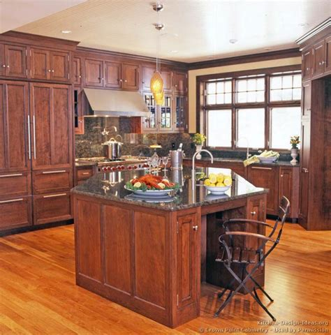 pictures of kitchens traditional medium wood cherry