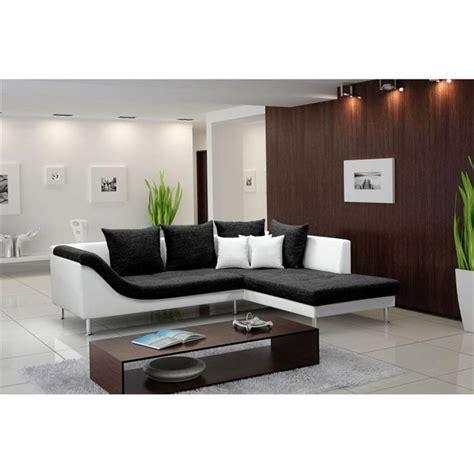 canapé noir et blanc design photos canapé d 39 angle design noir et blanc
