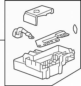 Gmc Sierra 2500 Hd Distribution Box  Fuse Box  Junction