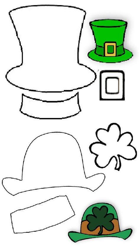 leprechaun hat template leprechaun hat st patricks day st pattys day st patricks day crafts st s day crafts