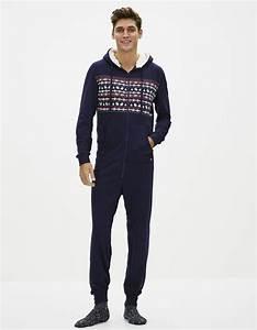 Combinaison Pyjama Homme Polaire : combinaison pyjama homme pyjama homme grenouillere adulte ~ Mglfilm.com Idées de Décoration