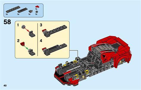 Need building instructions for your lego set 76895 speed champions ferrari f8 tributo? LEGO 76895 Ferrari F8 Tributo Instructions, Speed Champions
