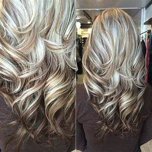 White Highlights Brown Lowlights Hair Colors Ideas