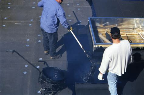 Commercial flat roof replacement repair St Louis