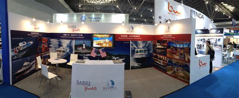 Boat Show Booth Ideas by Sabre In Shanghai Sabre Yachts
