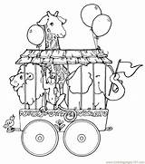 Circus Tent Coloring Pages Getdrawings sketch template