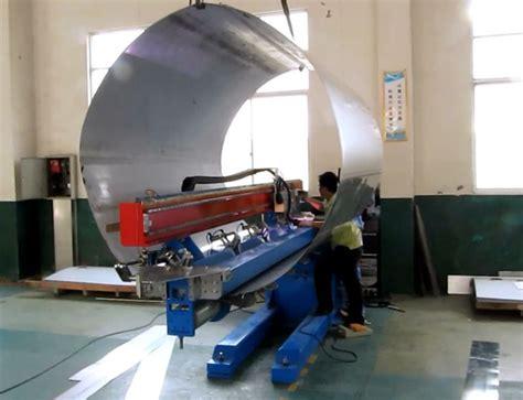 automated multi function longitudinal seam welder