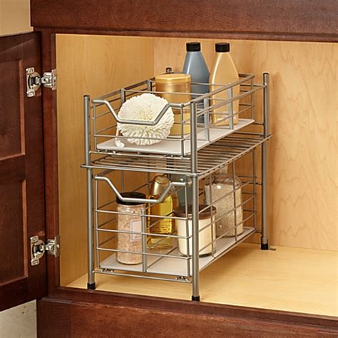 Bed Bath And Beyond Bathroom Cabinet Organizer by Buy Bathroom Organizers From Bed Bath Beyond
