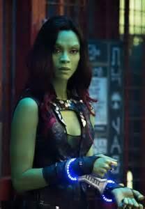 Zoe Saldana Guardians of the Galaxy Gamora As