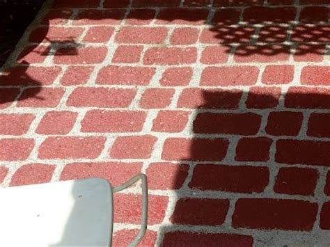 faux brick flooring 1000 images about sponge painting brick on pinterest