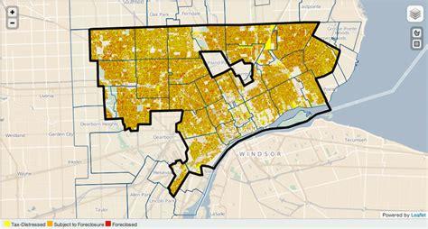 detroit map property taxes jan readers designboom