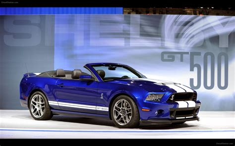 Ford Shelby Mustang Gt500 Convertible 2018 Widescreen