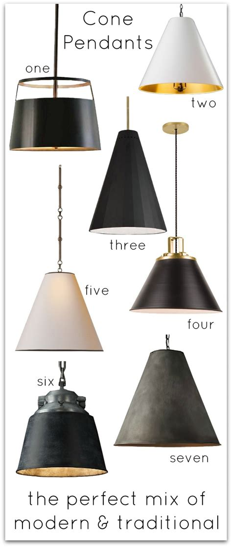black kitchen pendant light kitchen inspiration cone pendant lighting driven by decor 4710