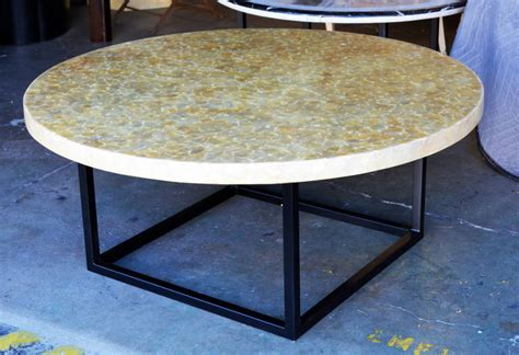 capiz shell table l vintage capiz shell coffee table top for sale at 1stdibs