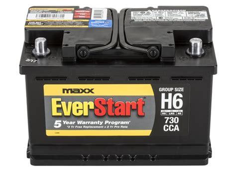 Everstart Maxx H6 Car Battery Specs Consumer Reports