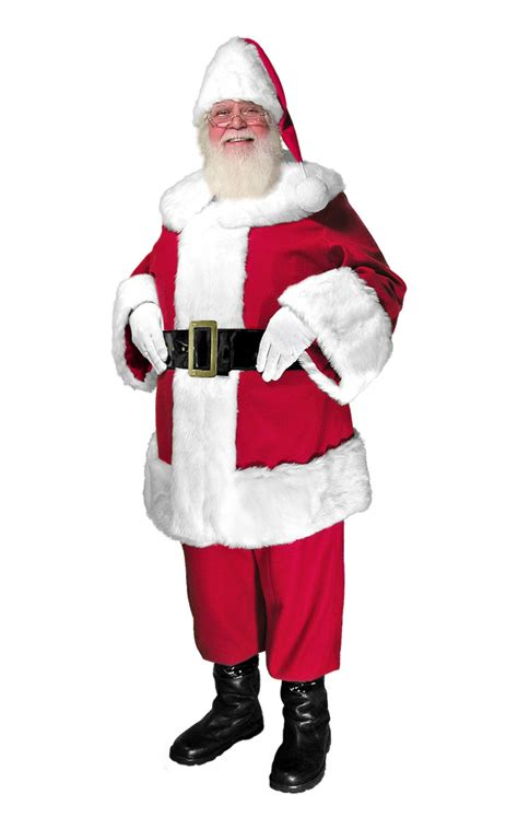 traditional santa suit quality traditional santa suit santa supply