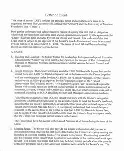Intent Letter For Job Application 39 Letter Of Intent Templates Free Word Documents