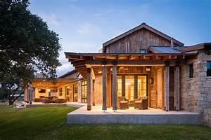 Llano Ranch - Rustic - Porch - austin - by Cornerstone