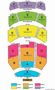 Durham Performing Arts Center Seating Chart