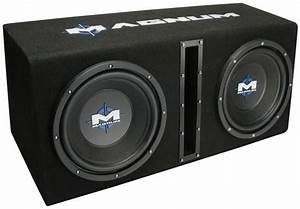 Mb210sp Dual 10 U0026quot  Subwoofer Enclosure And Amplifier Party