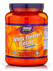 Now U00ae Sports - Whey Protein Isolate Vanilla