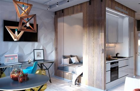 Bold Decor In Small Spaces 3 Homes Under 50 Square Meters