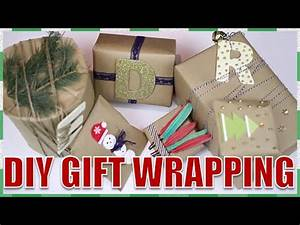 DIY Creative Christmas Gift Wrapping Ideas⎟ 6 WAYS