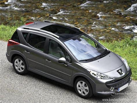 Peugeot 207 Sw by Peugeot 207 Sw Outdoor 1 4 16v Katalog Samochod 243 W