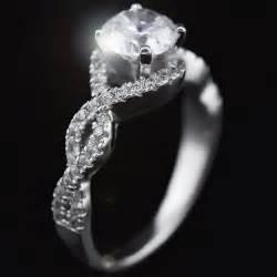 verlobungsring englisch 1 15 ct diamant solitaire verlobungsring in 18k weißgold punziert ebay