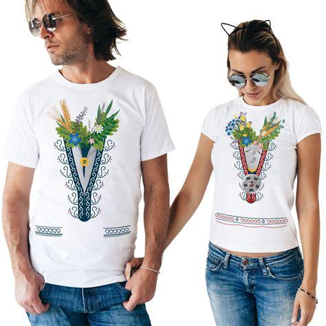 Tautu meita un tautu dēls- T-kreklu komplekts | Tava druka