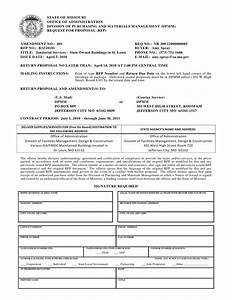 rfp document template With procurement document template