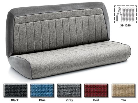 chevy s10 bench seat covers s10 bench seat cover velcromag