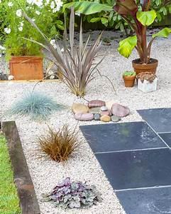 Cailloux Pour Jardin : jardin sur gravier r ussir l 39 am nagement d 39 un jardin de ~ Melissatoandfro.com Idées de Décoration