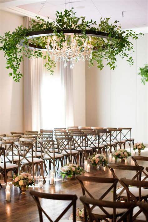15 ideas para una decoración de bodas con follaje