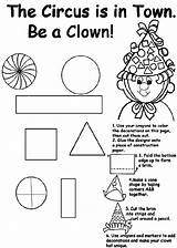 Circus Coloring Town Pages Crayola sketch template