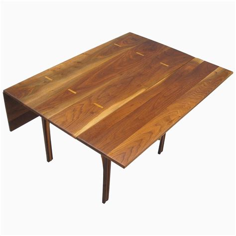 buy drop leaf table buy a custom solid walnut drop leaf table made to order