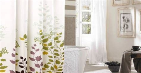 80 shower curtain hookless shower curtain tree leaves shower