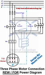Three Phase Motor Connection Diagram