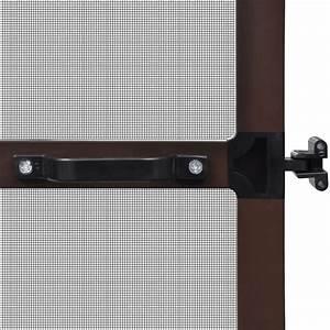 Moustiquaire Pour Porte : acheter moustiquaire charni res marron pour porte 100 x ~ Voncanada.com Idées de Décoration